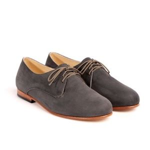 Nisolo Oliver Oxford in Slate Grey
